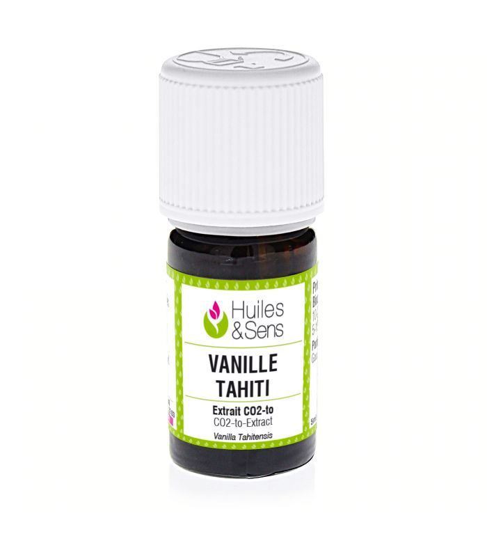 ExtraitCO2 Vanille Tahiti  Huiles  Sens
