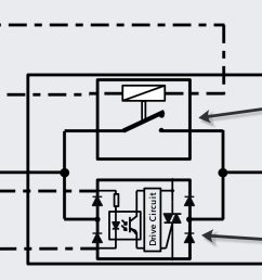 diagram of hybrid solid state relay [ 1679 x 735 Pixel ]