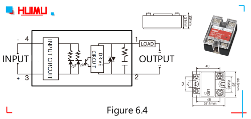 small resolution of circuit diagram dimensions and drawing of the zero crossing ac solid state relays
