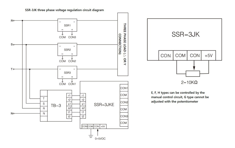 medium resolution of wiring diagram ssr 3jk series
