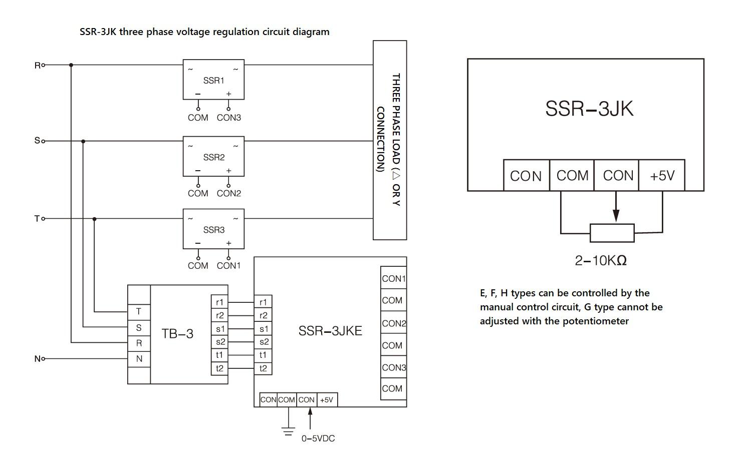 hight resolution of wiring diagram ssr 3jk series