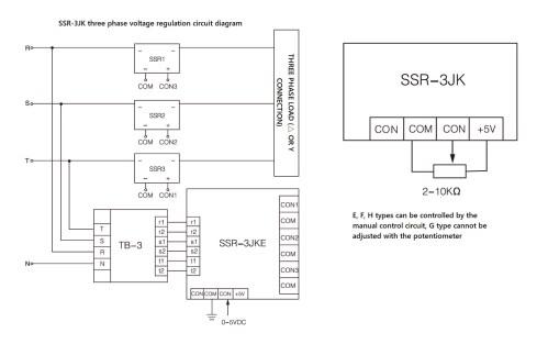 small resolution of wiring diagram ssr 3jk series