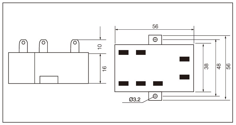 SSR-JK Series Single Phase AC Phase-shift Module (For