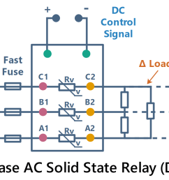 wiring diagram and circuit diagram of mgr mager ac solid state relay dc to ac [ 1679 x 798 Pixel ]