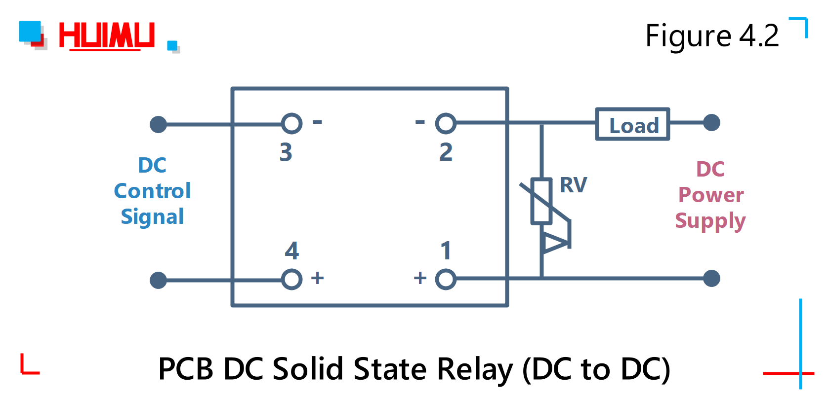 Solid State Relay Pin Diagram