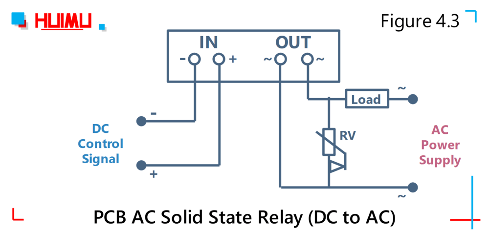 medium resolution of wiring diagram and circuit diagram of mgr mager pcb ac solid state relay dc to