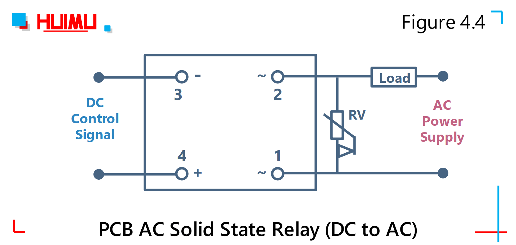 Solid State Relay Schematic Circuit