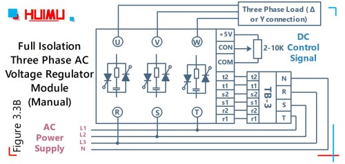 small resolution of wiring diode bridge rectifier and power thyristor module mgr mager circuit diagram of voltage regulator three phase ac voltage regulator