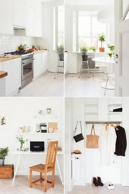 Een meisjesachtige studio appartement
