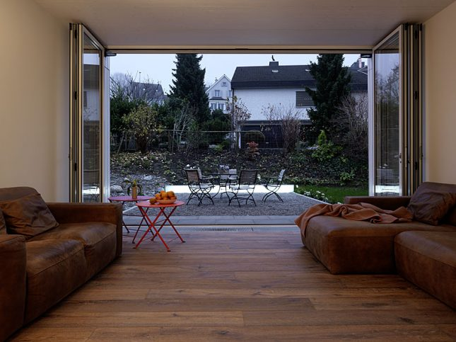Architect Daniele Claudio Taddei heeft dit huis ontworpen
