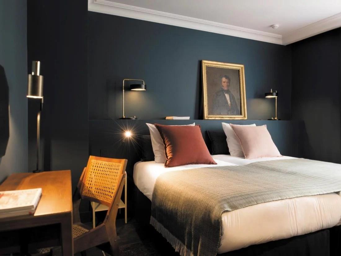 De mooie slaapkamers van COQ hotel in Parijs  Huis