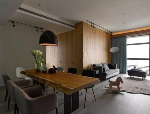 Landelijke inrichting woonkamer