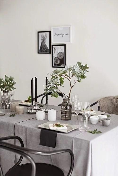 Feestelijke tafels op zn Scandinavisch  Huisinrichtencom