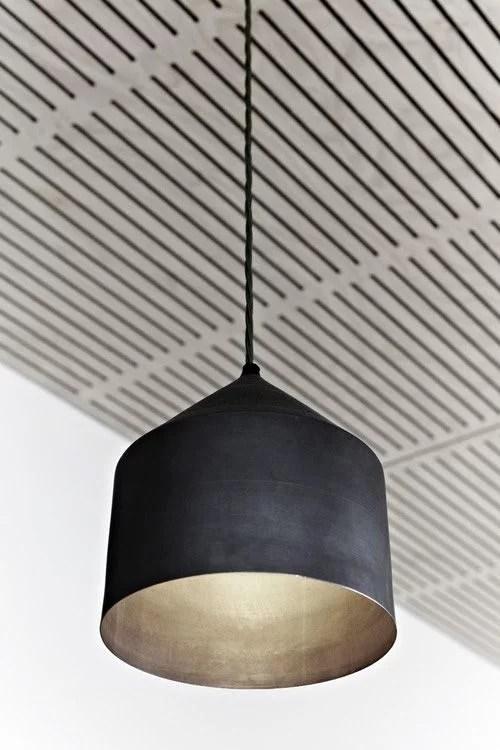Hanglampen met gouden binnenkant  Huisinrichtencom