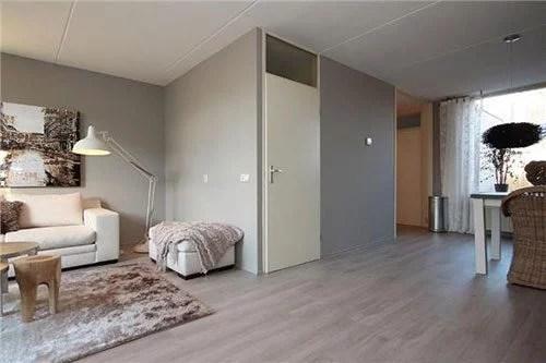 L vormige woonkamer