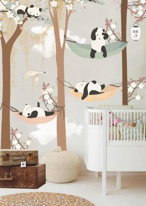 Kinderkamer behang van Little Hands  Huisinrichtencom