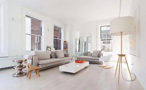 Licht en modern appartement in New York