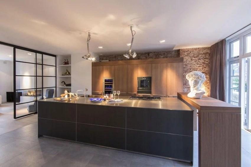 Luxe keuken met open industrile karakter  Huisinrichtencom