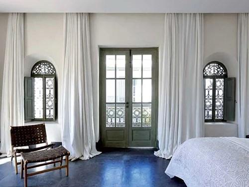 Marokkaanse slaapkamers van Riad Mena