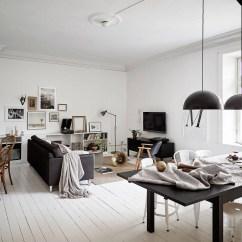 Eames Chair White How To Make A In Minecraft Scandinavische Woonkamer Met Kleurencontrast | Huis-inrichten.com