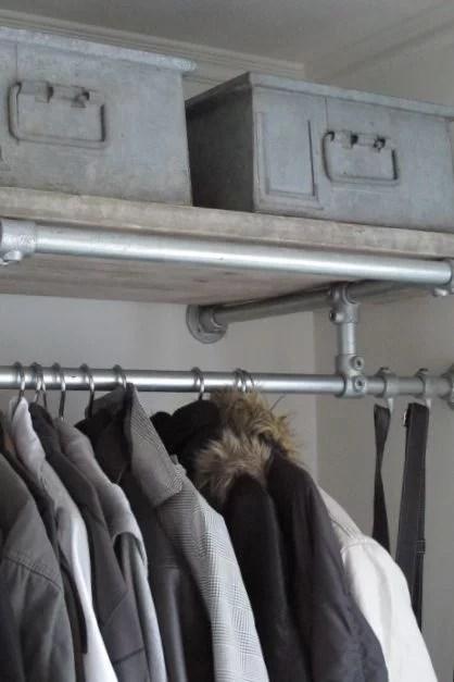 Steigerbuizen kledingrek  Huisinrichtencom