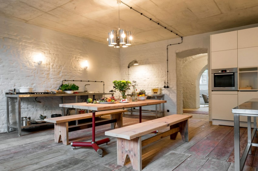 Stoere moderne keuken in de souterrain  Huisinrichtencom