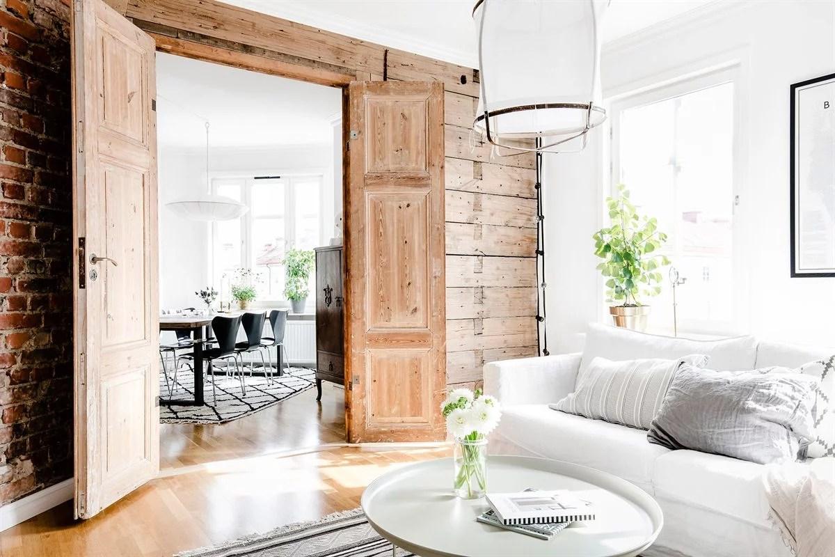 Stoere Zweedse woonkamer  Huisinrichtencom