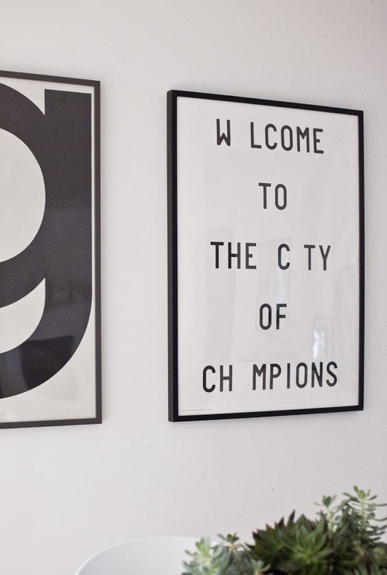 Welcome to the city of the champions poster  Huis