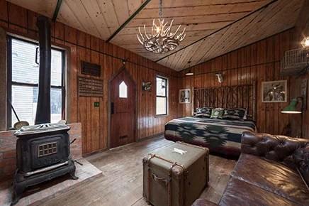 Western slaapkamer van BB Urban Cowboy
