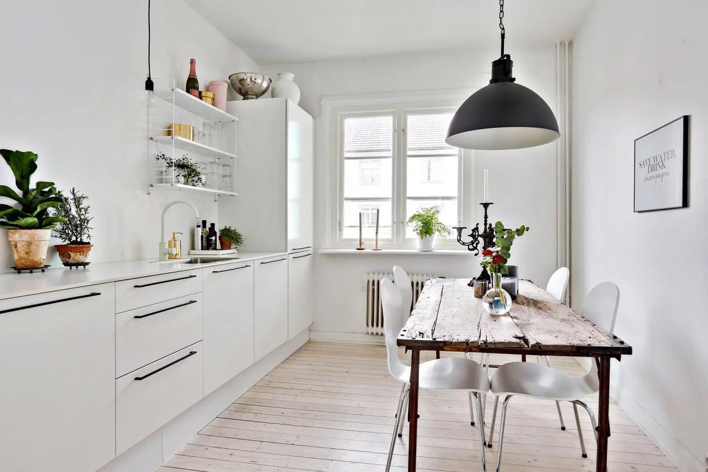 Witte Scandinavische keuken  Huisinrichtencom
