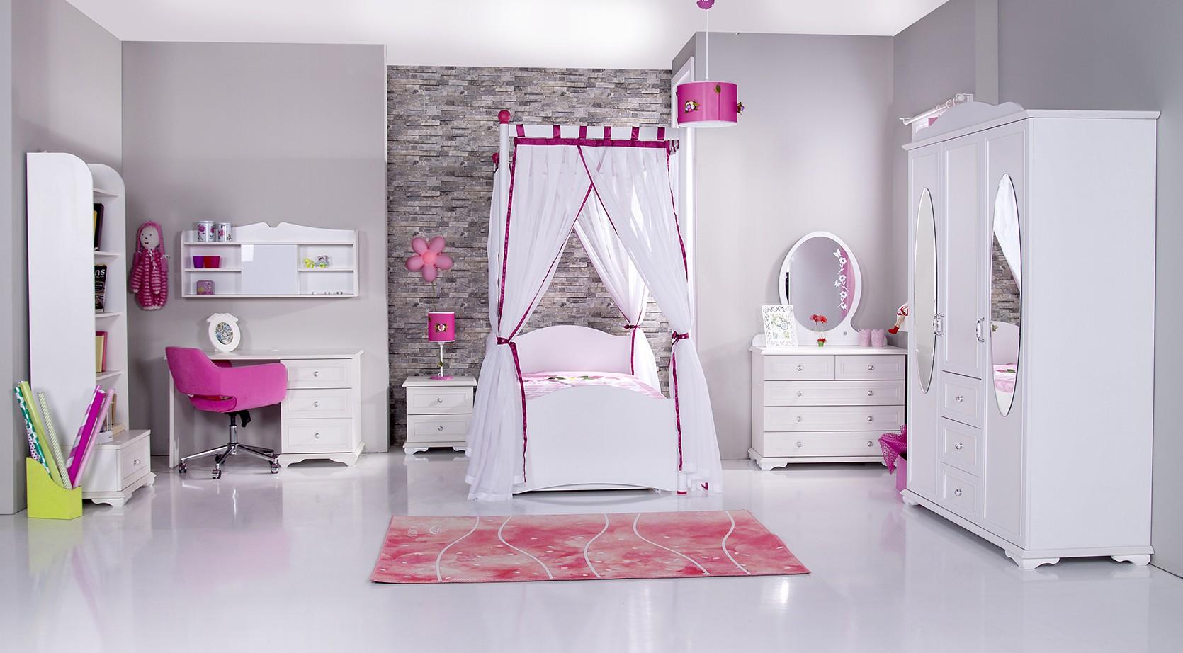 kinderkledingkast 3 deurs Cindy kopen bij Huis en Tuin