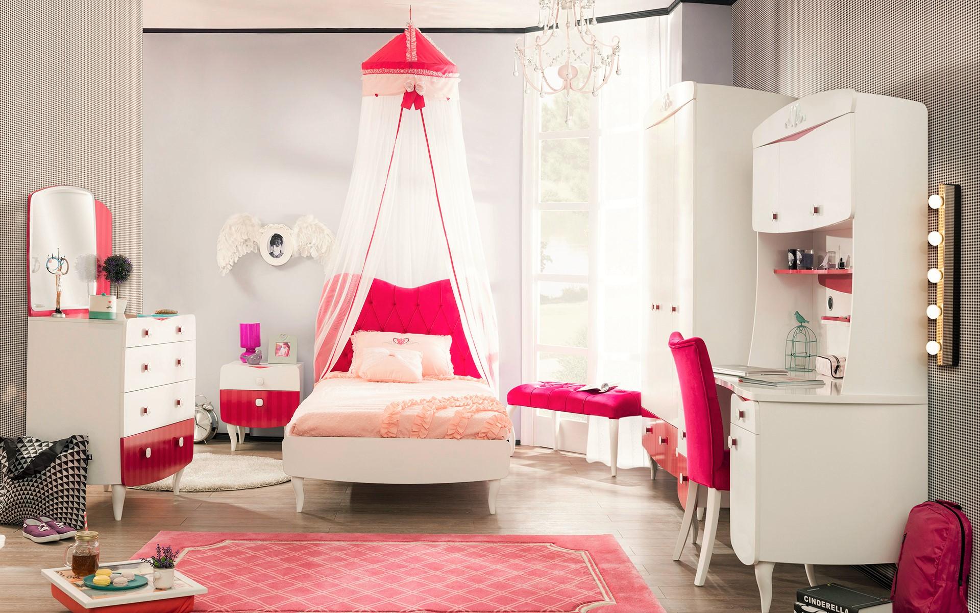 Meisjes Slaapkamer Bed