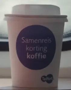 Trakteer op koffie, en reis met 40% korting