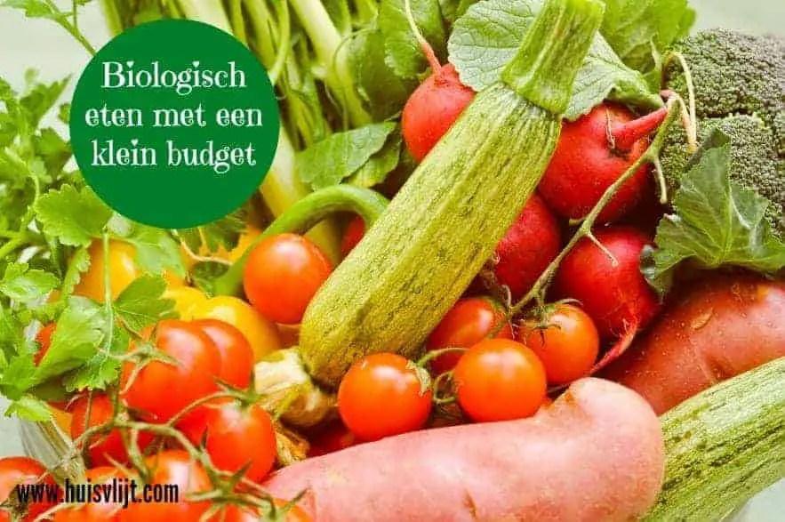 biologisch eten klein budget