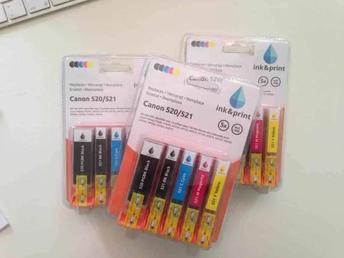 action inkt cartridges