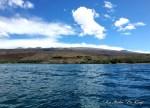 ハワイ島フォト日記 なかなか見れない沖からの景色だぞ!