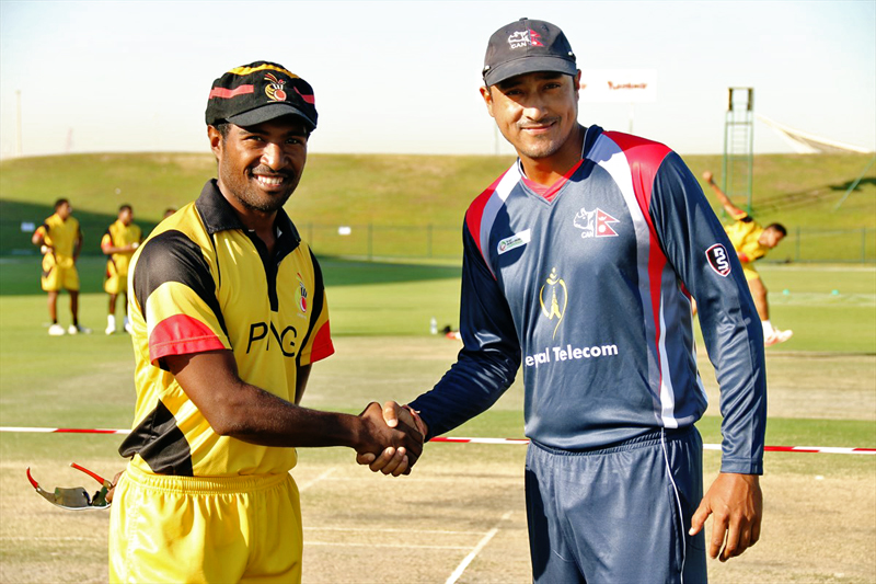 Papua New Guinea defeat Nepal by 2 wickets