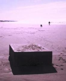 UFO sightings reveal more strange metal boxes along coastal beaches