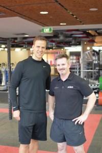 Mark Wayland training