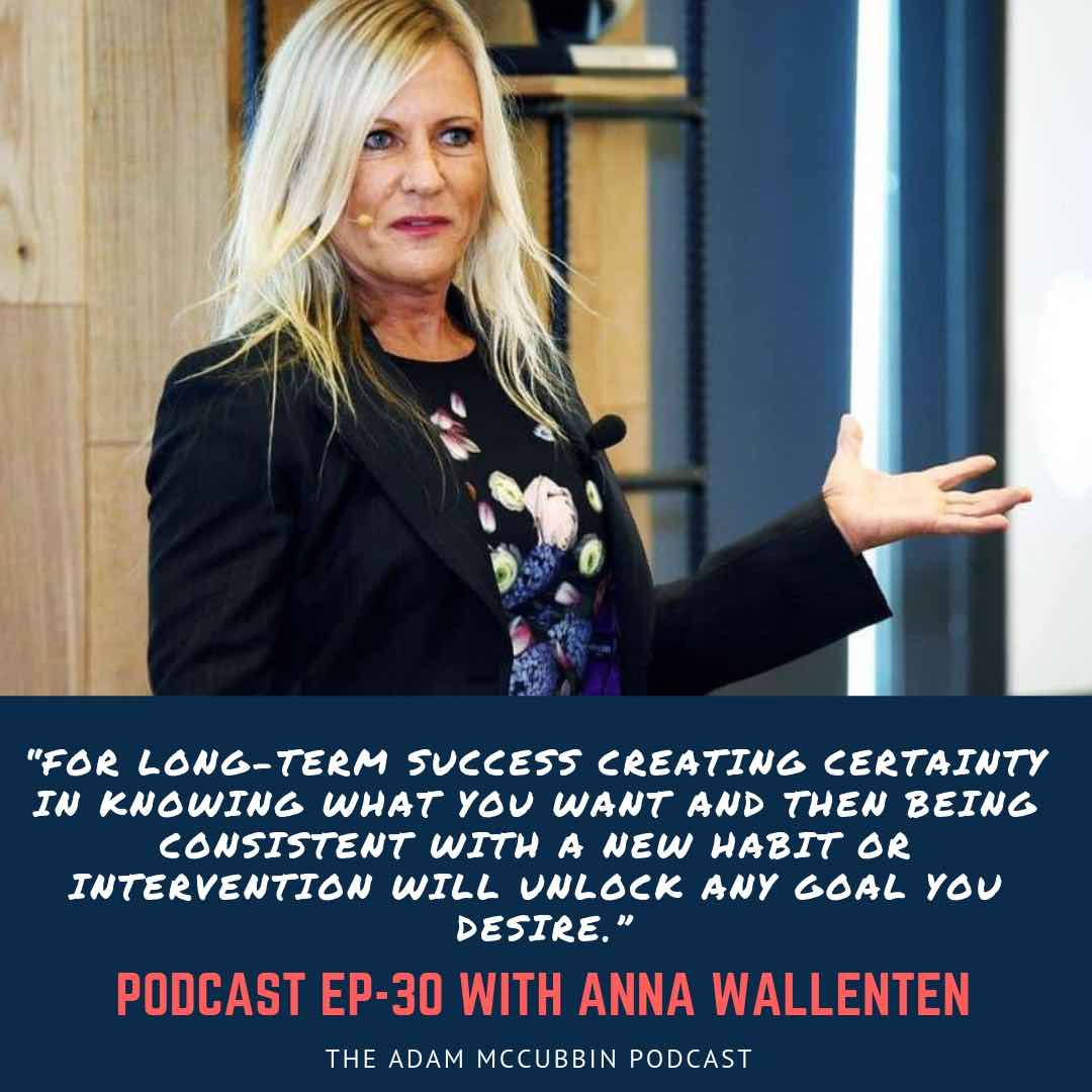Anna wallenten podcast