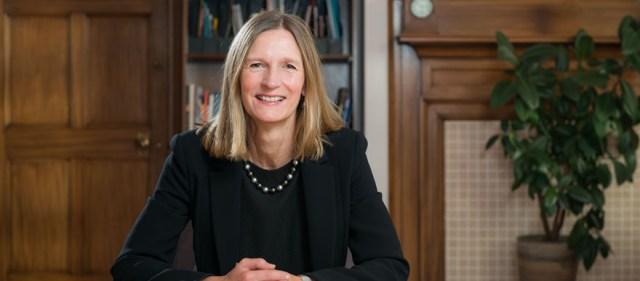 Vice-Chancellor Prof Susan Lea