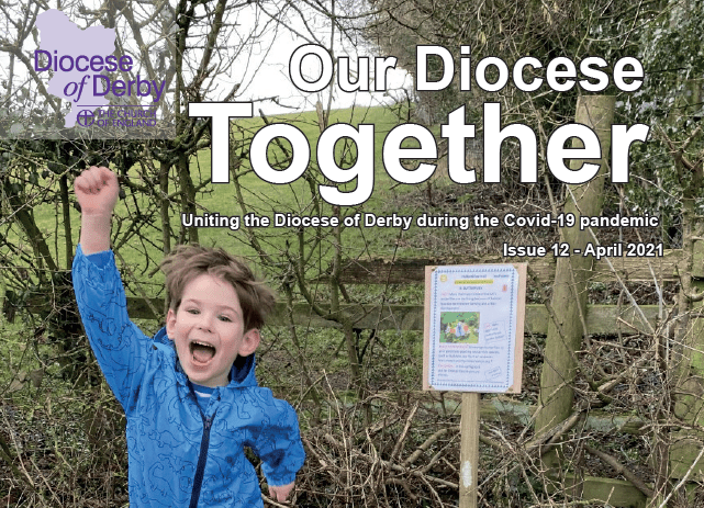 Hulland Eco Trail hits front cover of Magazine