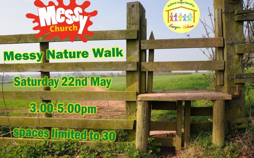 Messy Church Nature Walk