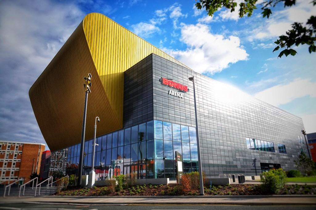 The Bonus Arena in Hull.