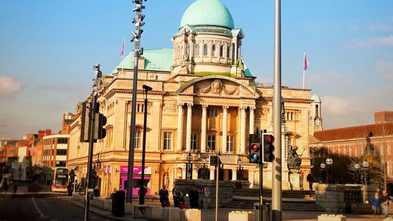 Hull City Hall.