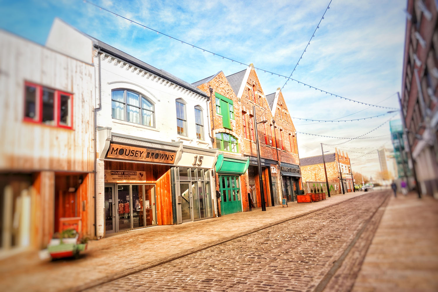 Humber Street in the Fruit Market, Hull.
