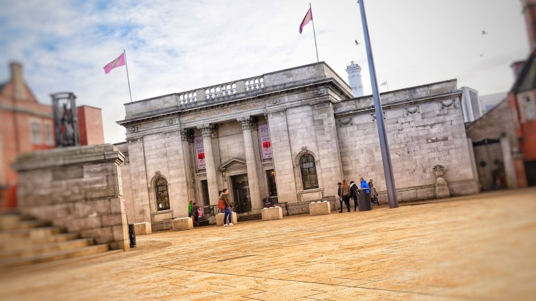 The Ferens Art Gallery.