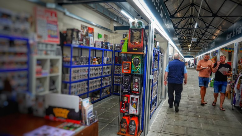 Trinity Market is not just about the food - it also features a range of great independent shopping outlets.