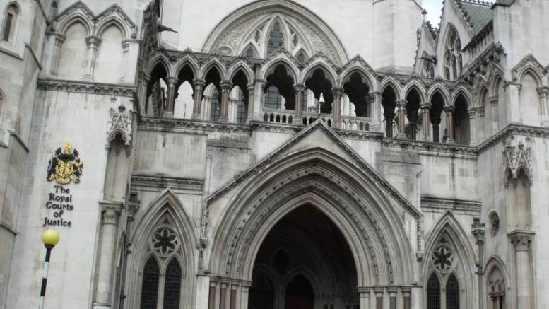 The Royal Courts of Justice. Picture: Elliott Brown