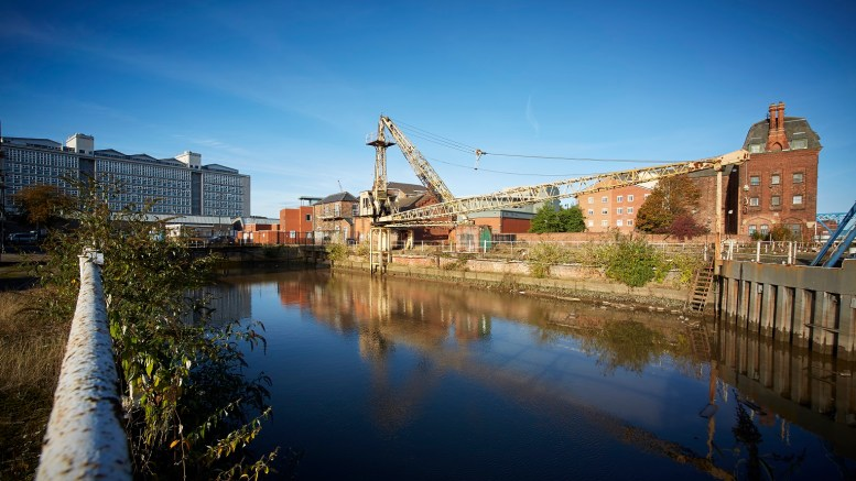 The North End Shipyard in Hull.